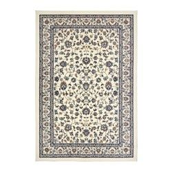 """IKEA - VALLÖBY, Rug, low pile, 5 ' 7 """"x7 ' 7 """", , Durable, stain resistant and easy to care for since the rug is made of synthetic fibers.The thick pile dampens sound and provides a soft surface to walk on."""