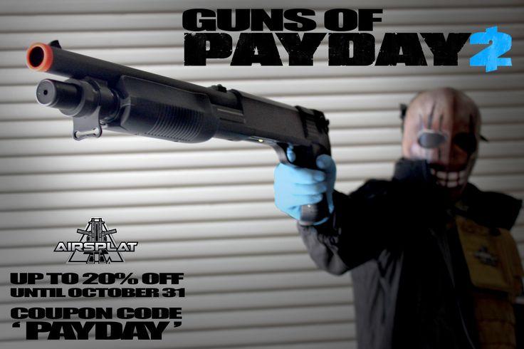 Shot gun coupons
