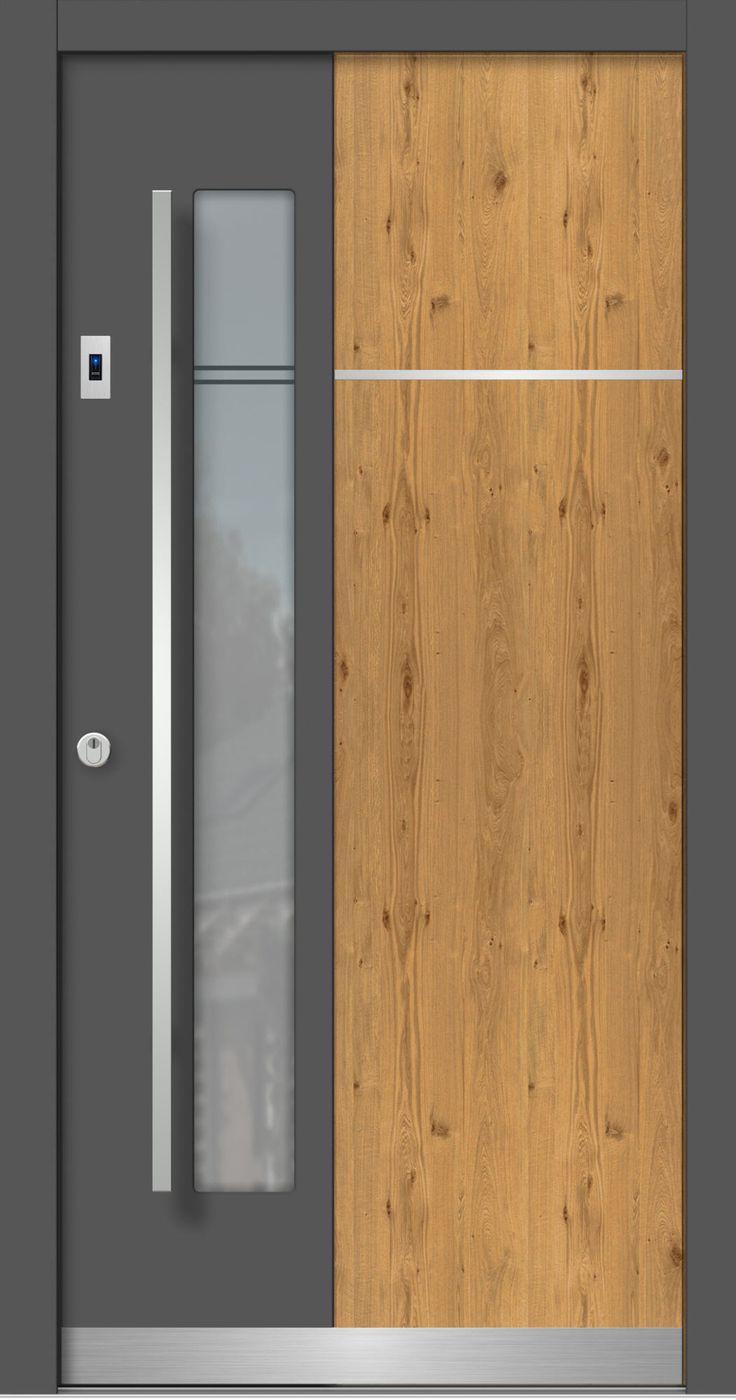 t re haust re hauseingang holz astig neubau. Black Bedroom Furniture Sets. Home Design Ideas