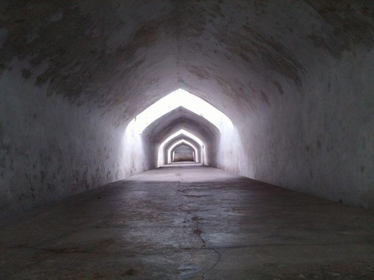 Ondergrondse gangen in het Kraton