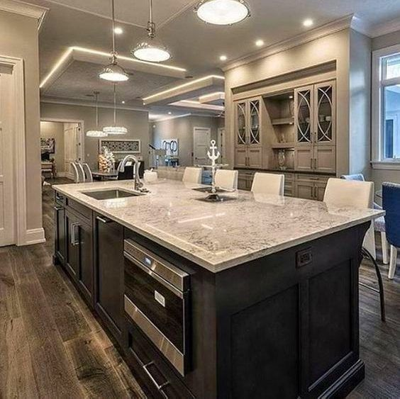 20 Dining Room And Kitchen Interior Combo Ideas 18307: 13 Best Kitchens: Glazed Cabinets Images On Pinterest
