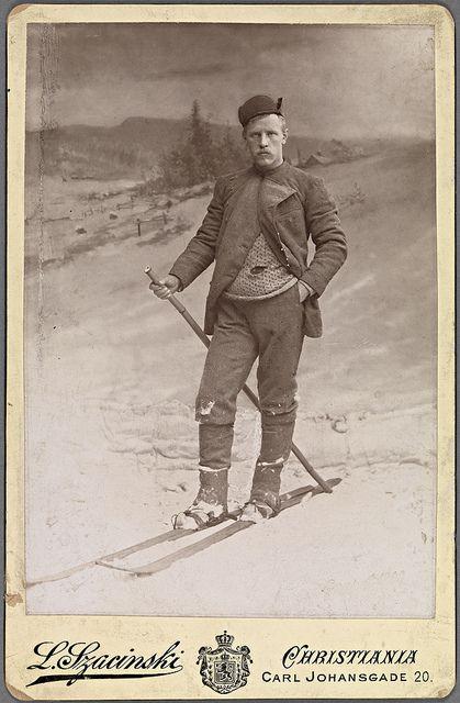 Fridtjof Nansen,Norwegian explorer (1861-1930), photographed 1890 by L. Szacinski | Flickr - Photo Sharing!