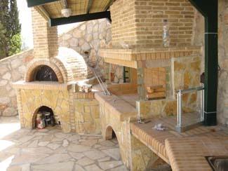 Stone Brick Bbq And Brick Oven Brick Stone Bbq Pizza Oven