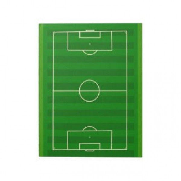 Bloc notes terrain de football des mini terrain de foot pour vos messages et pense - Niveler un terrain pour pelouse ...