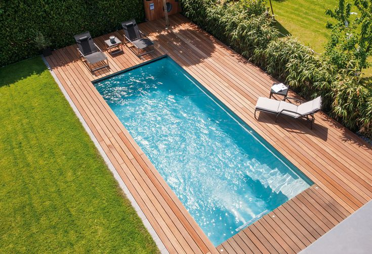 """""""Ancona"""" Schwimmbad von Riviera Pool #pool #pool #garden   – OUTDOOR POOLS"""
