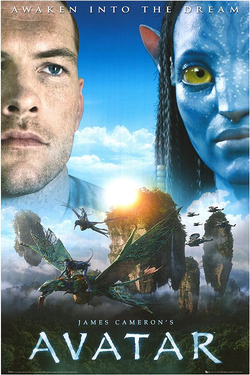 AVATAR in 3D - a groundbreaking mix of live-action dramatic performances and computer-generated effects