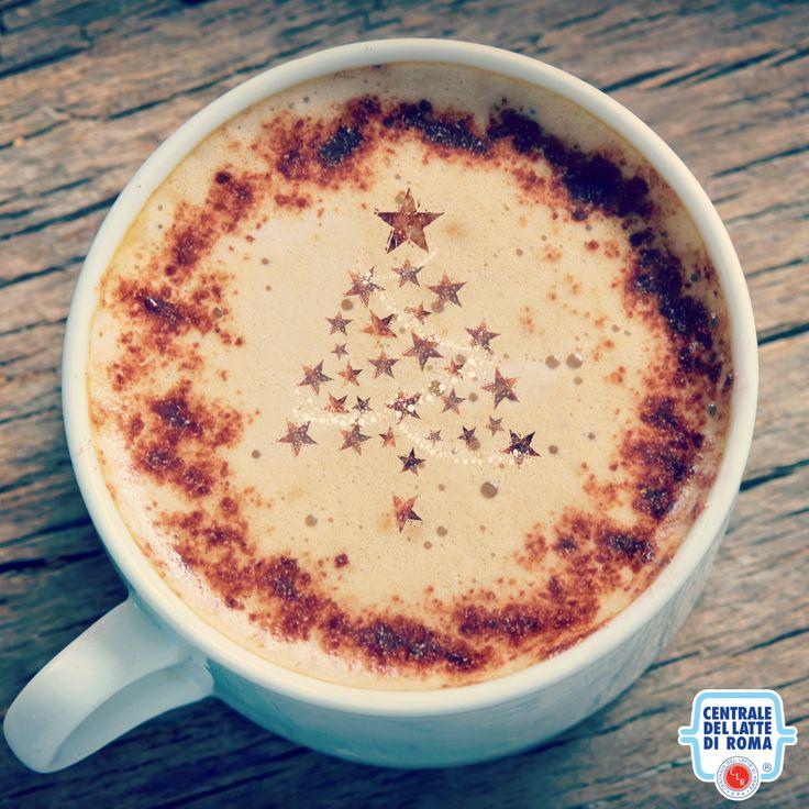 Cappuccino di Natale, Albero di natale, Christmas cappuccino, Milk, Creative, Xmas tree