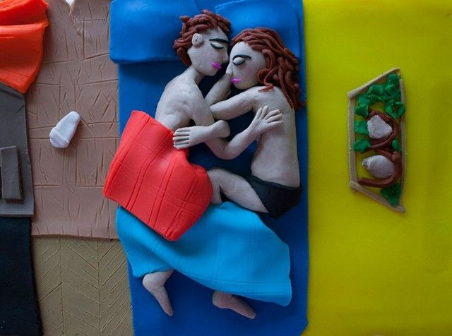 Eleanor Macnair;Photographs Rendered in Play-doh