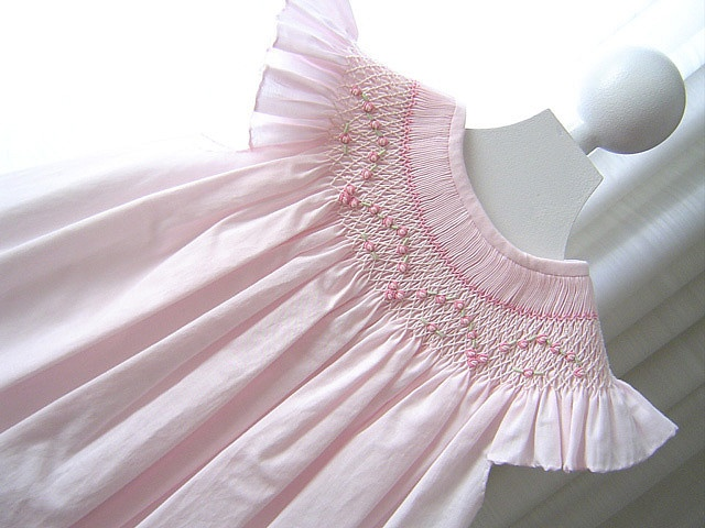 Beautiful smocking design!