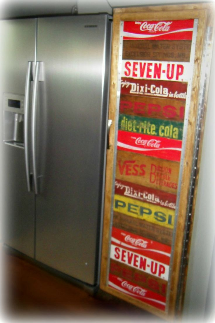 3196 best images about coca cola on pinterest diet coke for Wooden soda crate ideas