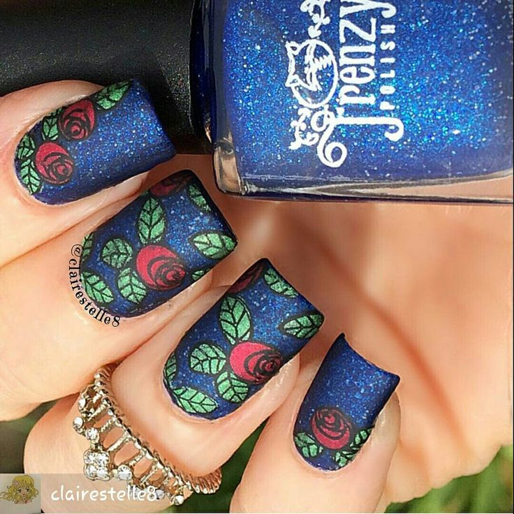 133 best Fairy Tale Nail Art images on Pinterest   Belle nails, Fun ...