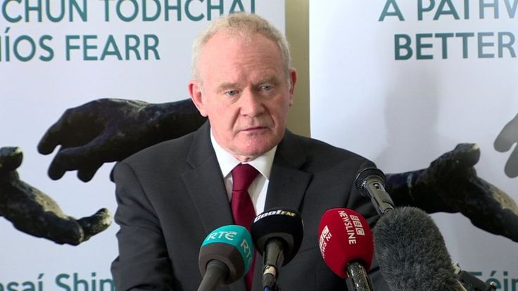 Martin McGuinness Unionism has 'psychological problem with reconciliation' - BBC News