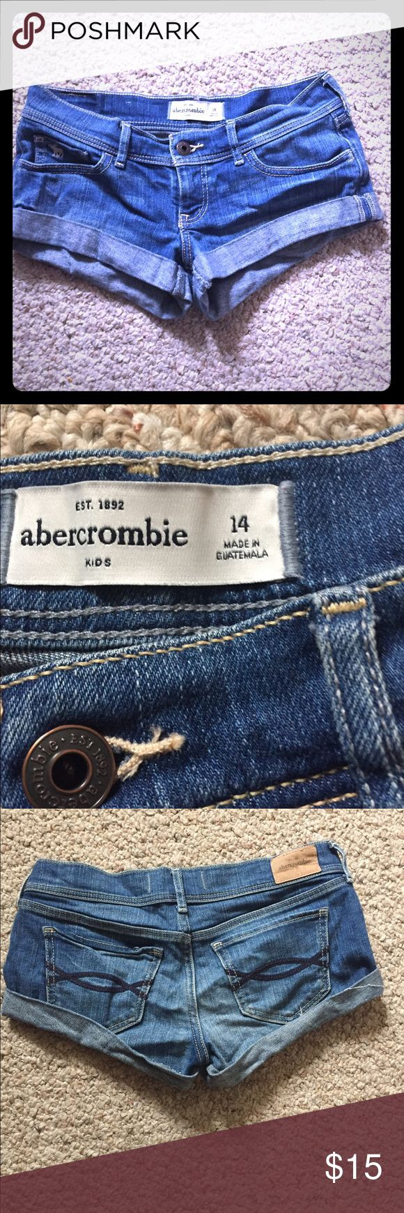 Abercrombie Girls Shorts Abercrombie Girls Shorts size 14 great condition! Abercrombie & Fitch Bottoms Shorts