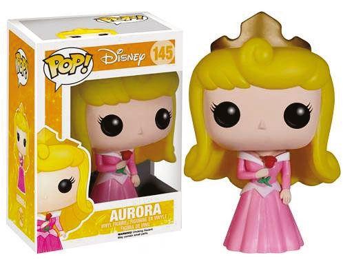 Cabezón Princesa Aurora 9 cm. La Bella Durmiente. Línea POP! Disney. Funko Precioso cabezón del personaje de la Princesa Aurora de 9 cm de la línea POP! Disney y 100% oficial y licenciado que de buen seguro hará las delicias de todos los peques de la casa.