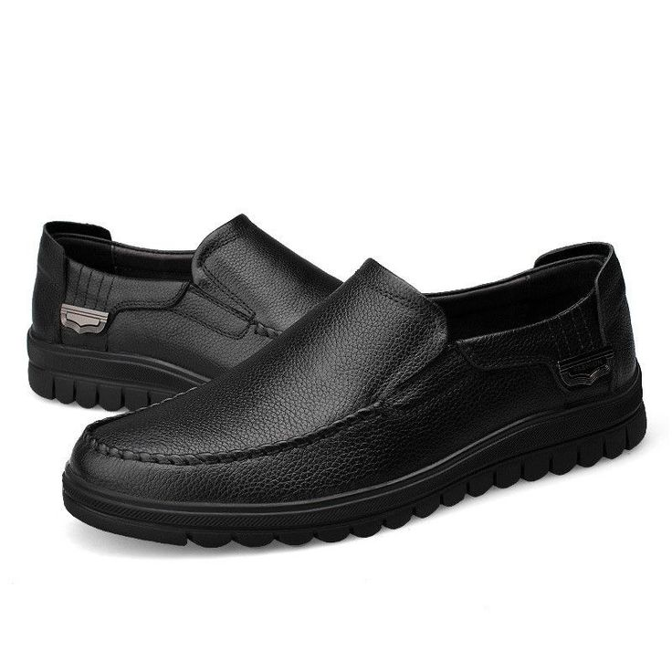 Smart Casual Calf Leather Loafers