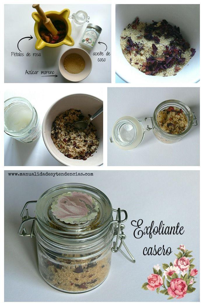 Exfoliante casero ecológico / Homemade body scrub