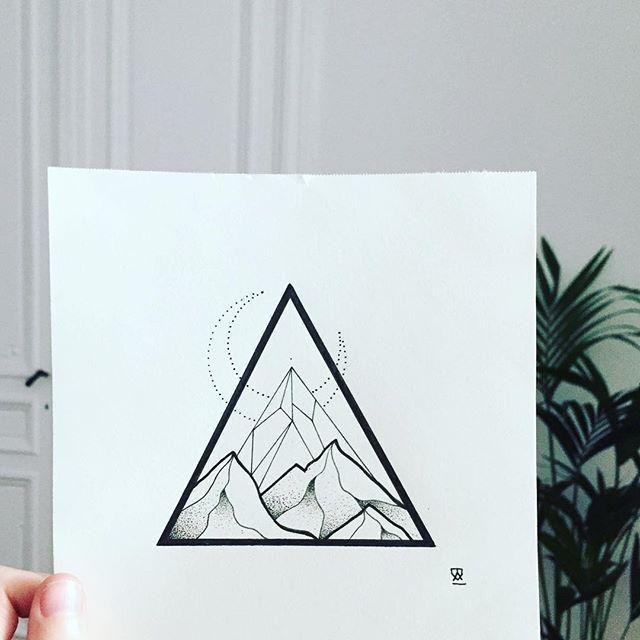 Мая, рисунки треугольников прикольные