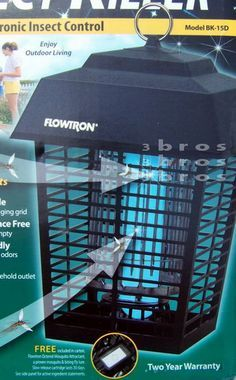 New Electric BUG ZAPPER Flowtron 1/2 Acre Mosquito Killer Insect Trap Light #Flowtron