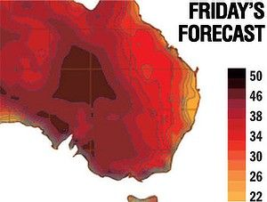 The heat will be focused on internal regions. It's going to be a hot one.
