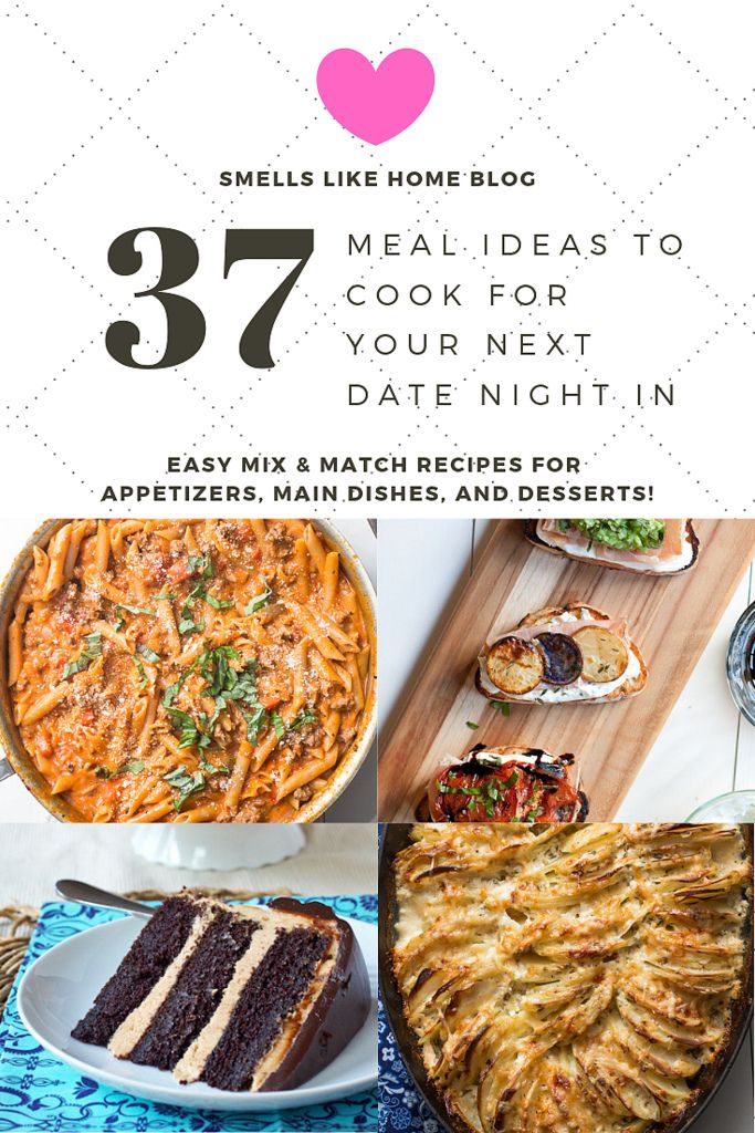 Ideas to cook for a first date