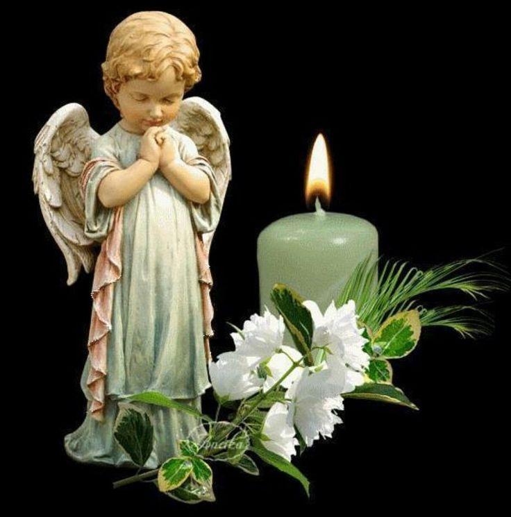 Картинки в память об умершем человеке с ангелом, картинки надписями про