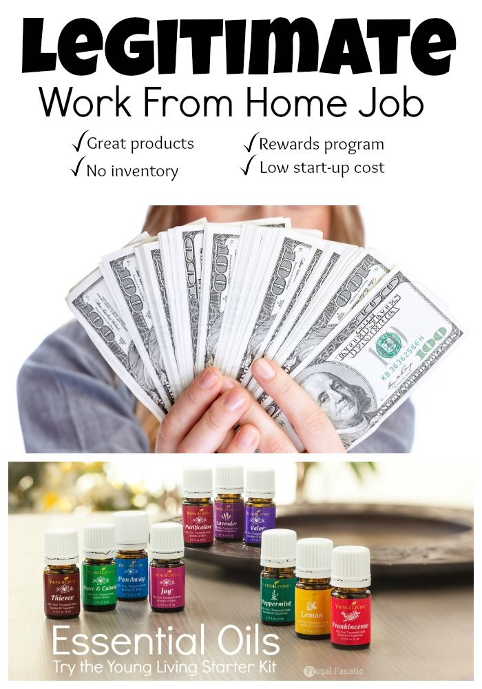 Looking for a legitimate work from home job? Becoming a Young Living Essential Oils distributor is an amazing option to work from home and make a full-time income.