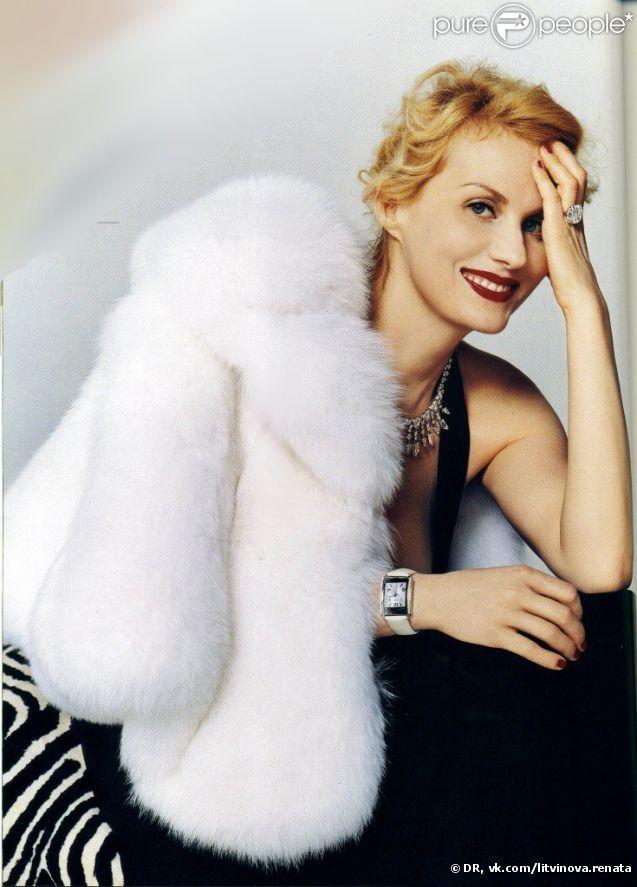 Fur and diamonds .. Typical Russian style ... Renata Litvinova