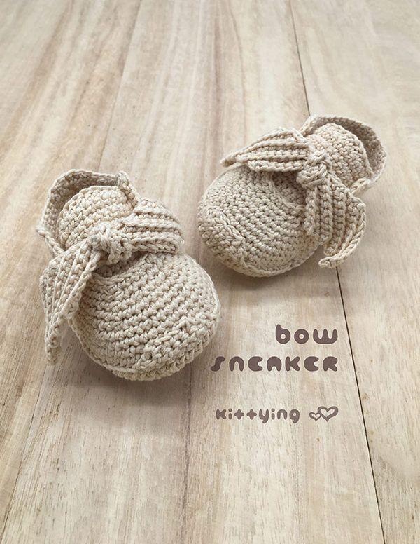 Bow Sneakers Preemie / American Doll / 18″ Doll / Newborn / Baby ...