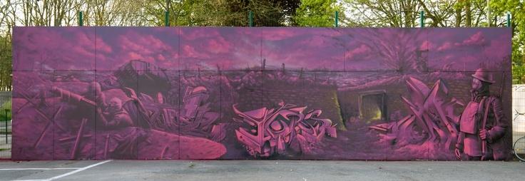 WWI - Iper Belgium by LostFlammos collective prins - stein - pier - mars - boris - timon - jeps - jucte