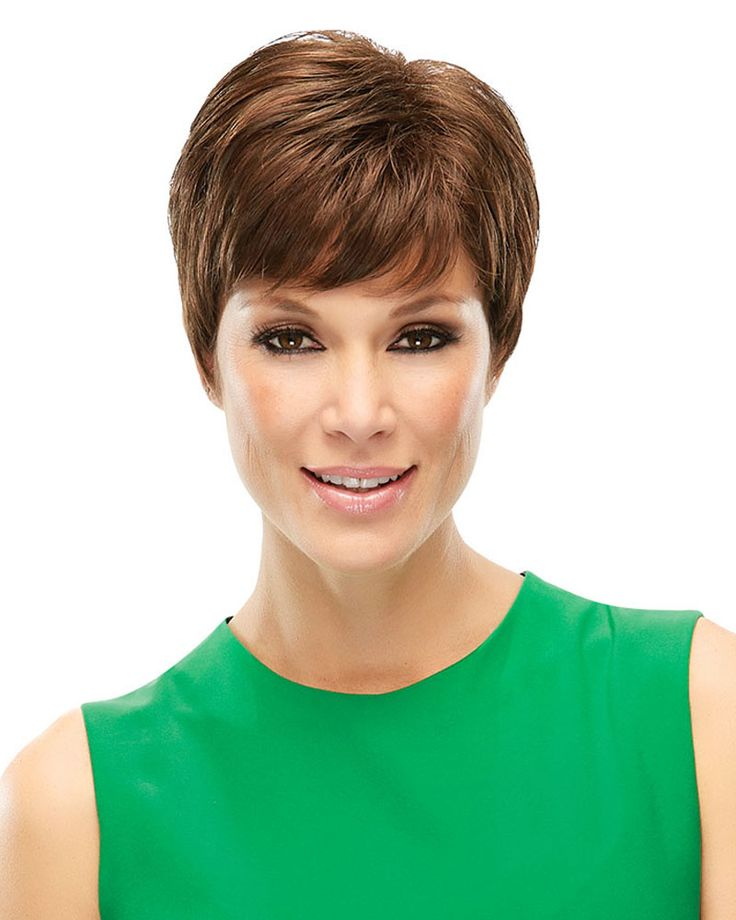 ELITE- Elite wig by Jon Renau features an elegantly tapered silhouette of this chi short style feels as great as it looks, with cooling open cap construction and effortless wearability. This pixie's hair type is Synthetic and weights 2.0 ounces.   $110.84