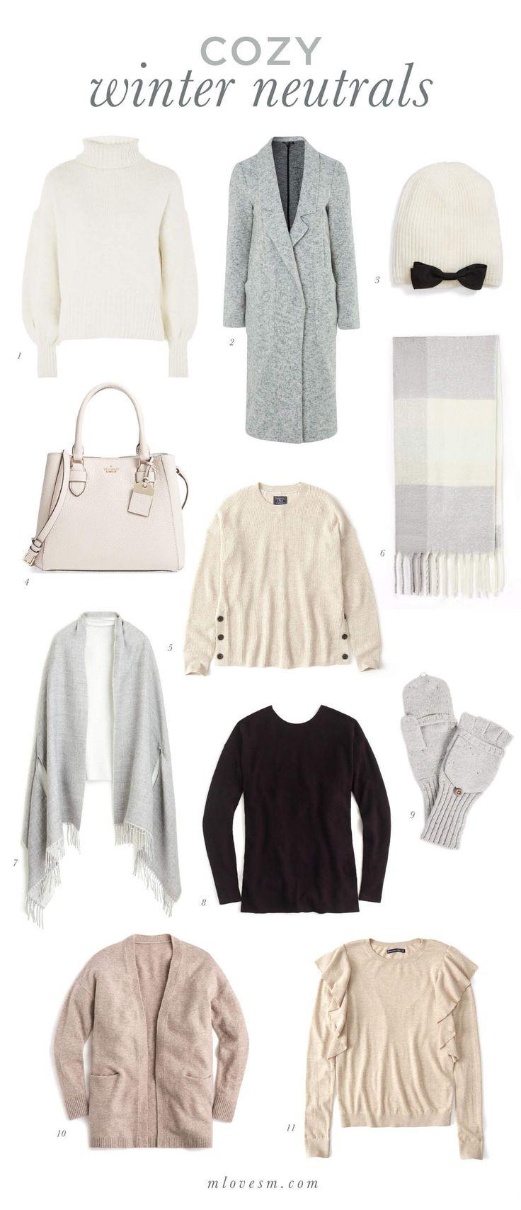 Cozy Winter Neutrals + 3 Favorite Weekend Sales   M Loves M