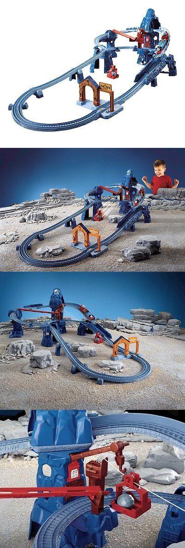 Train Sets 113519: Thomas The Train: Trackmaster Risky Rails Bridge Drop -> BUY IT NOW ONLY: $289.43 on eBay!