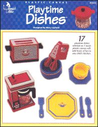 plastic canvas dishes | Plastic Canvas Books