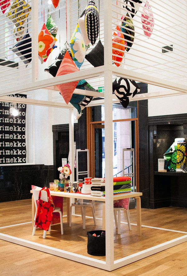 Marimekko, well-known Finnish design store.  (I think they invented stripes?)