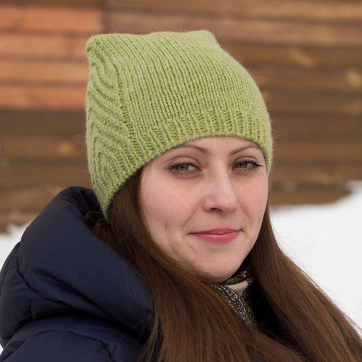 Hand knit women hat. Cat hat. Alpaca wool hat. Green hat. Winter hat. Warm hat.  Gift for her. Meow Meow hat. Free shipping by MarooSocks on Etsy