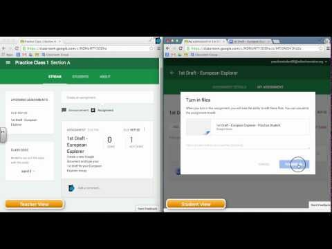 Google Classroom Video Series - Assignment Workflow & Ownership - YouTube by EdTechnocation.com
