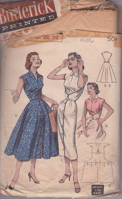 69 Best Fashion Trends Of The 1950 S Images On Pinterest