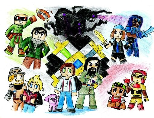 Jesse's gang+the Order of the Stone :D
