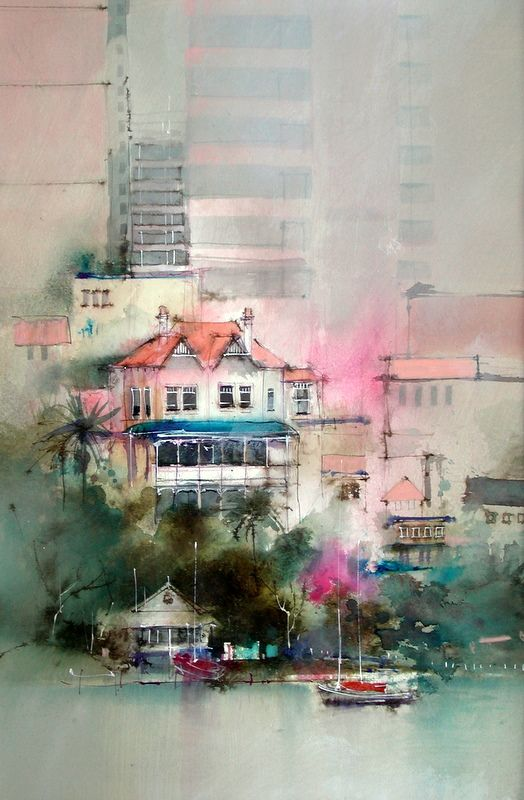John Lovett :  a great example of focusing on a spot and blurring out surrounding to elevate the contemporary aspect of the work... great assignment inspiration !