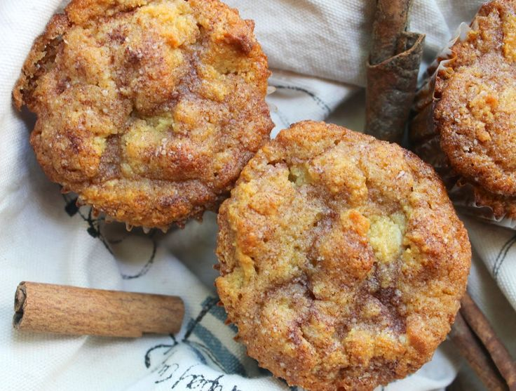 The Almond Flower: Dairy Free Cinnamon Swirl Muffins (made with coconut oil and blanched almond flour)
