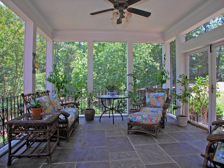 17 best images about sunroom ideas on pinterest sun room furniture and wicker furniture - Screened porch furniture ideas ...