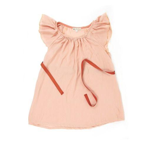 zomer jurkje Cuba salmon - meisjes 2-6j - kledij 0-6 jaar - Nobodinoz - Lunabloom - Stijlvolle en ...