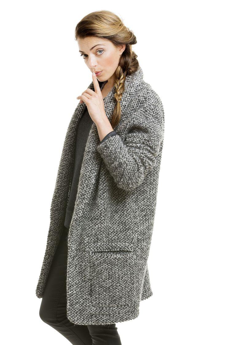 Anne Mendens´s grau-melierter Wollmantel mit supersofter Qualität zum reinkuscheln @YOU&IDOL http://youandidol.aboutyou.de/#!/outfits/202