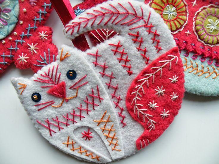 Decoración navideña Tutorial ... Gato