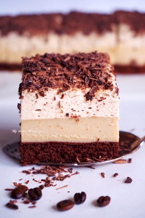 Mokka cake - delicious coffee cake    mysweetworld
