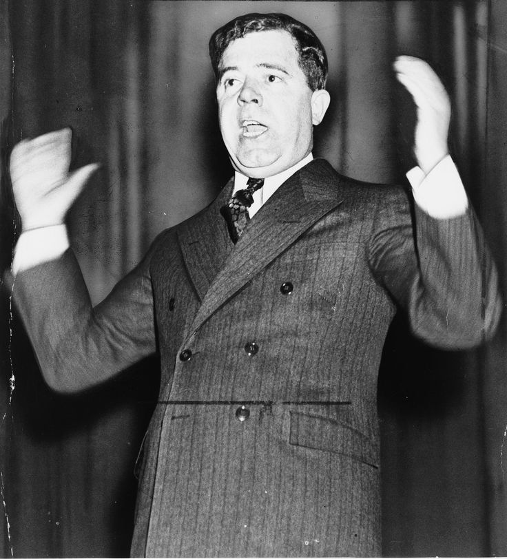1932 ♦ October 3, Senator Huey P. Long, (August 30, 1893 – September 10, 1935), known as Huey Long and self-nicknamed The Kingfish, was an American politician who served as the 40th governor of Louisiana from 1928 to 1932 and as a member of the United States Senate from 1932 until his death from assassination in 1935.