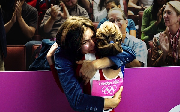 Thanks P  London 2012 Olympic praises for mothers.