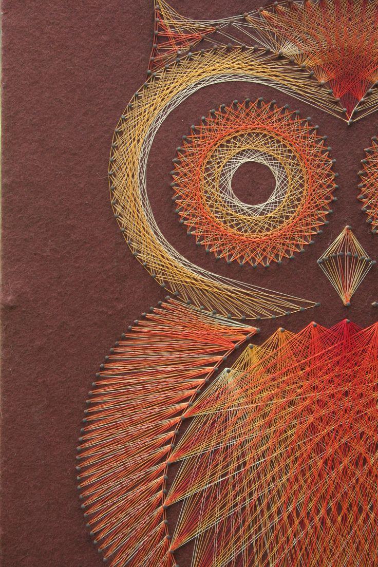 How To Do String Art 70 Best String Art Images On Pinterest