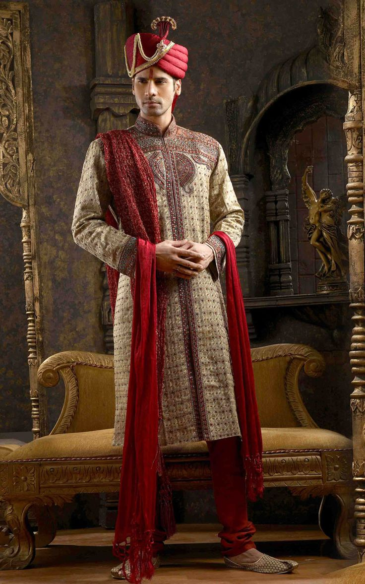 Sherwani Outfit For Ceremony