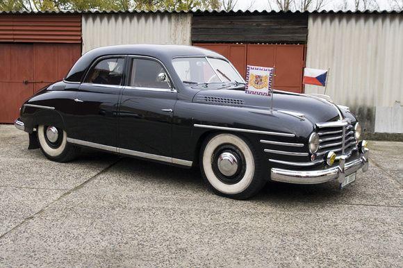 1948 Skoda VOS government armored special Limousine